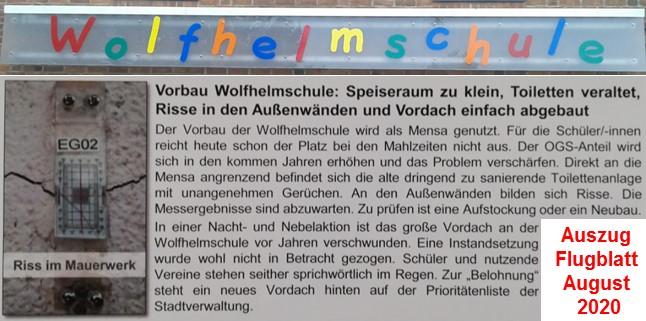 Wolfhelmschule Dansweiler – ein wichtiger Schritt Richtung Zukunft