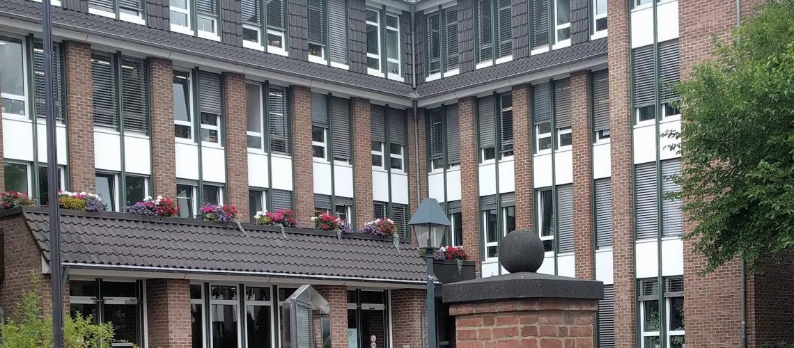 Pulheimer Rathaus - Innenhof